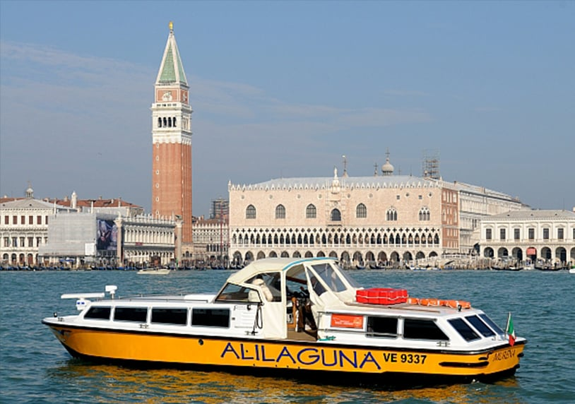 Alilaguna Water Bus To And From The Marco Polo Airport