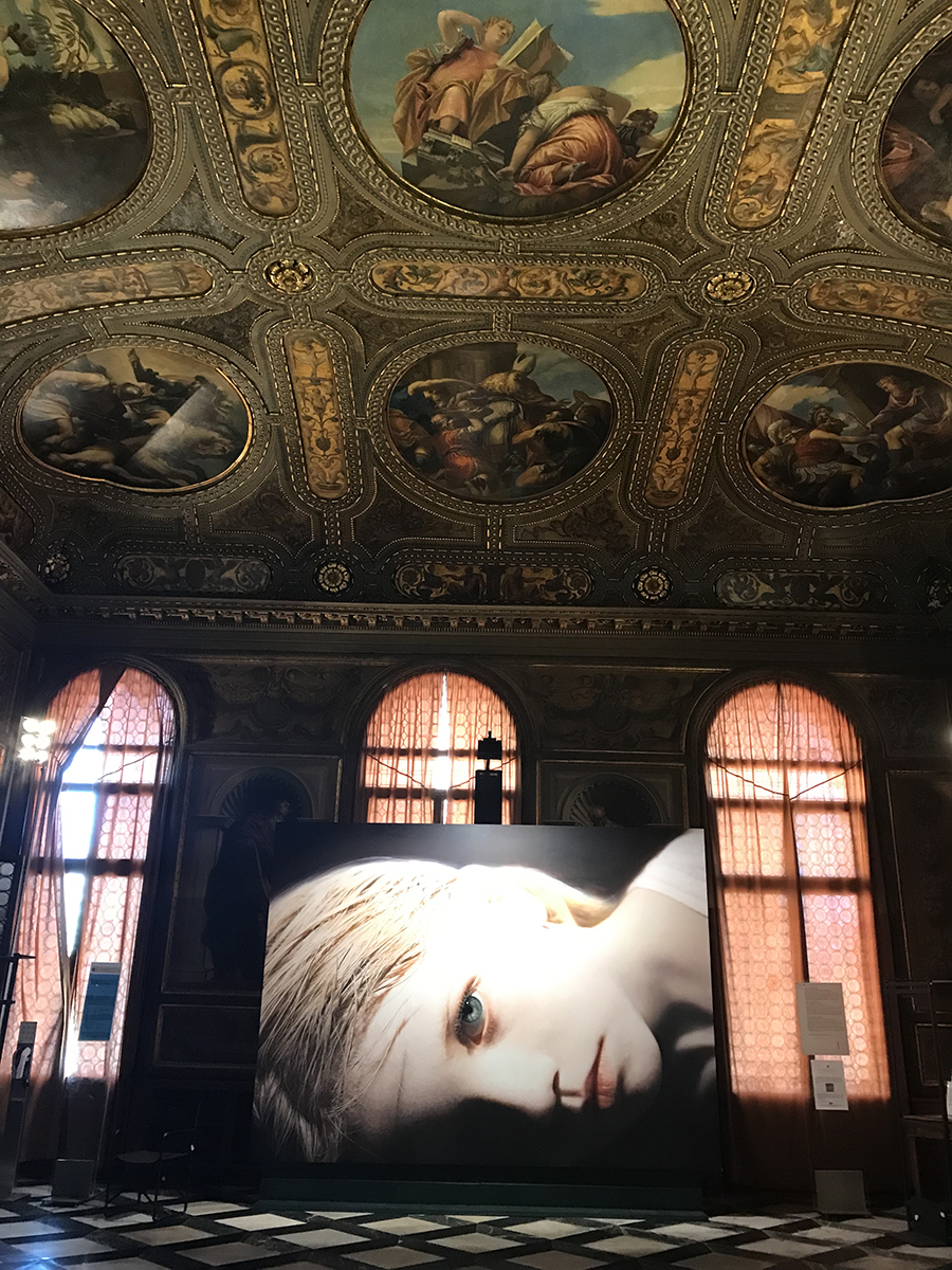Gottfried Helnwein, Quel silenzioso bagliore nelle Sale della Biblioteca Marciana