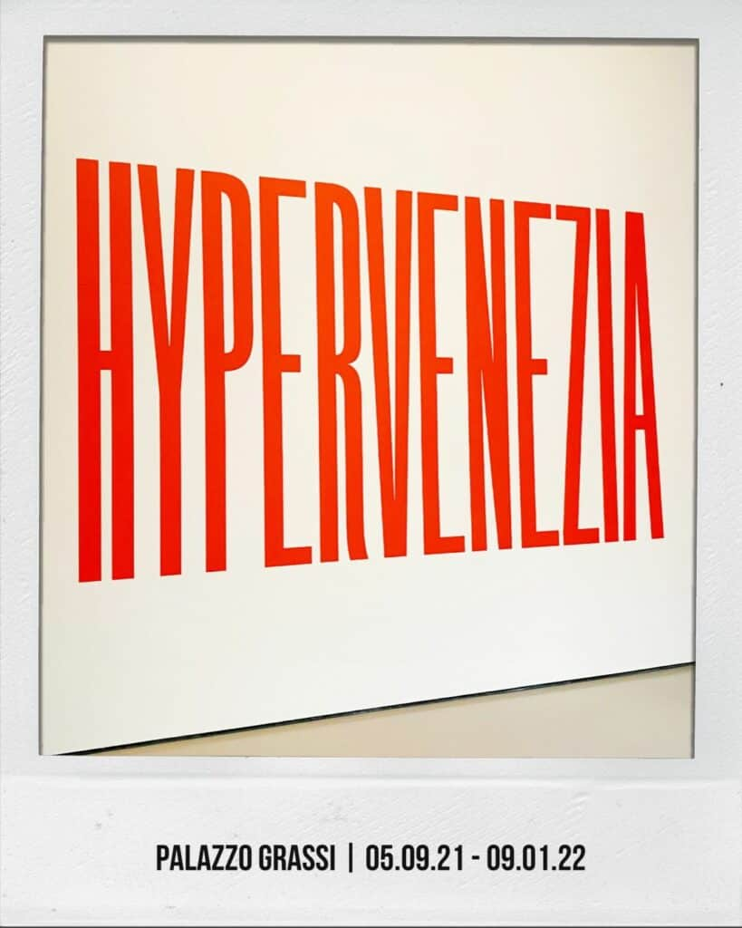 exhibition Hypervenezia at Palazzo Grassi